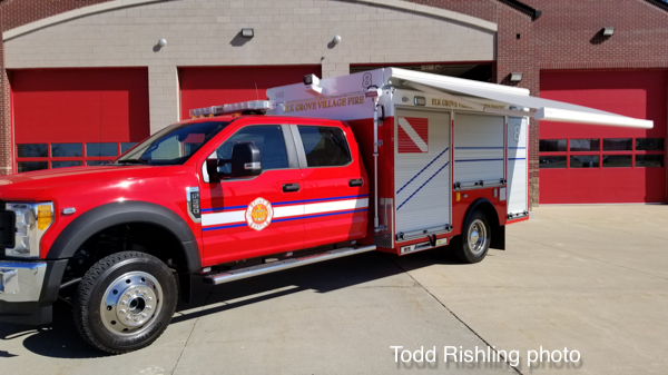Elk Grove village FD Dive Squad 8 built by LDV