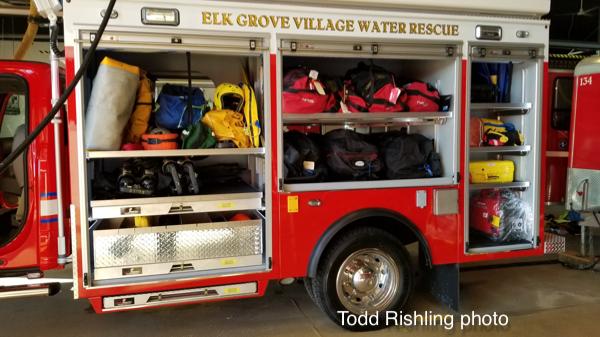 Elk Grove village FD Dive Squad 8 built by LDV
