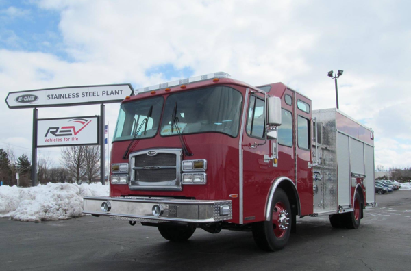 new fire engine for Zion IL