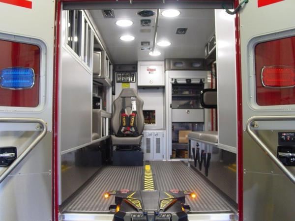 New ambulance for Lombard