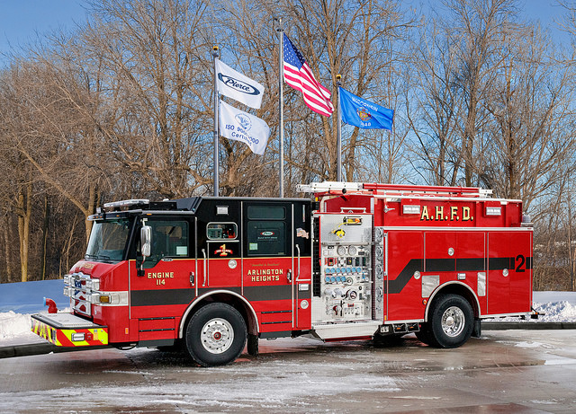 Arlington Heights FD Engine 2