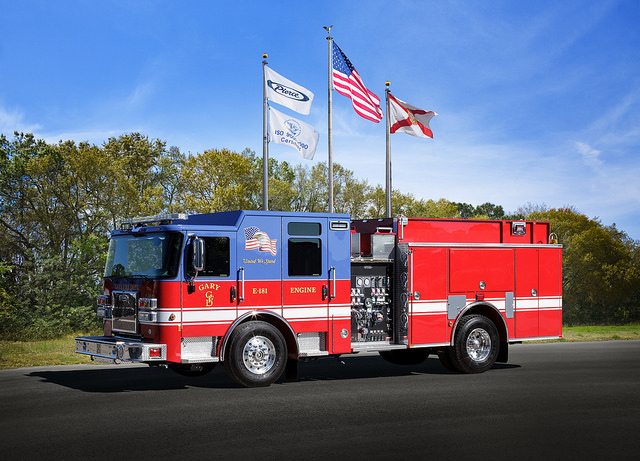 new Pierce fire engine for Gary Indiana