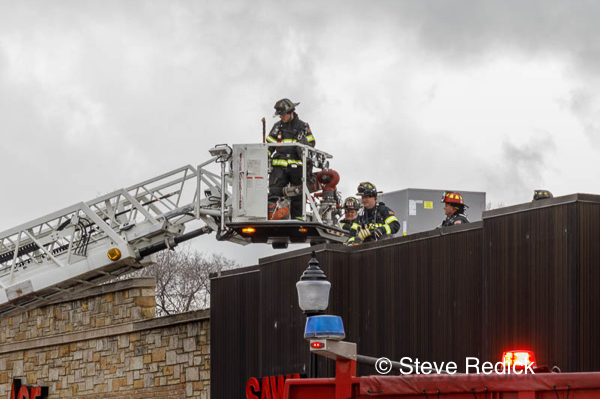 Skokie Firefighters at work