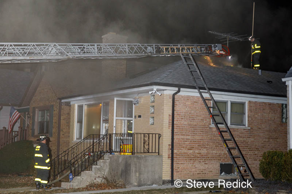 Chicago bungalow fire