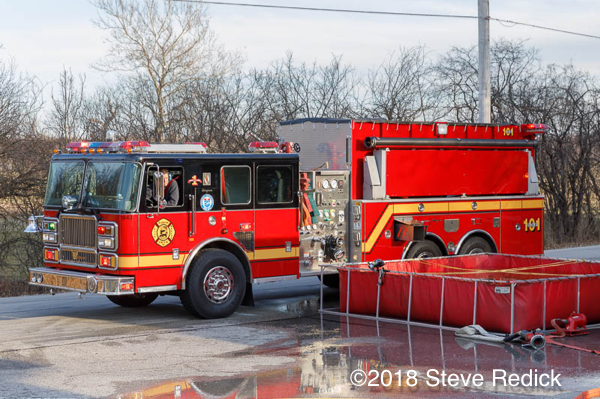 St Charles Fire Department tanker