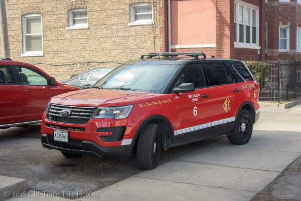 CFD Battalion 6 - 2018 Ford Explorer FDB-618