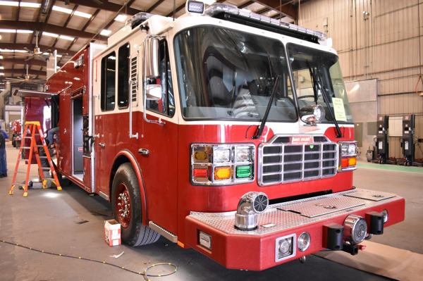 new fire engine for the East joliet FPD
