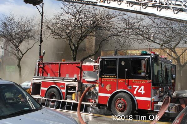 Chicago FD Engine 74