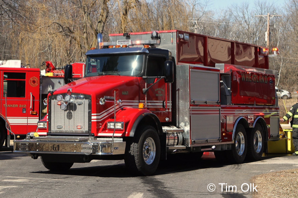 Wheatland FD water tender
