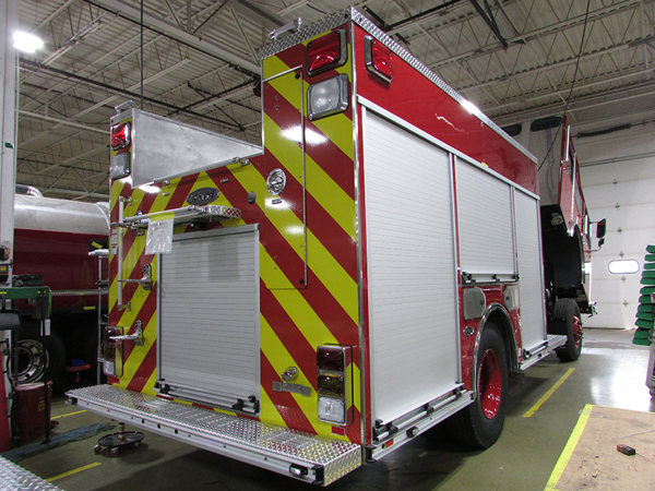 Fire engine being built for the Zion Fire Department