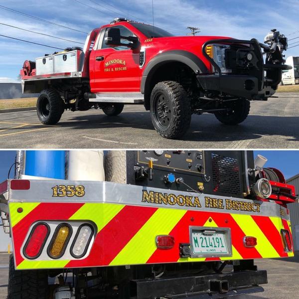 fire department brush fire truck