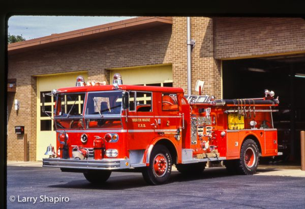 Ward LaFrance Ambassador fire engine