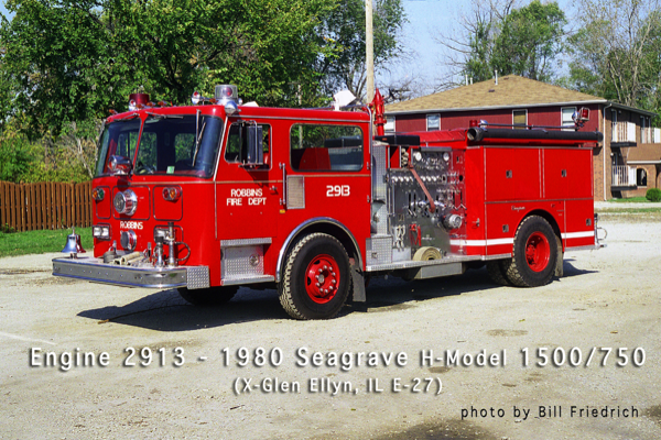 Robbins FD Engine 2913
