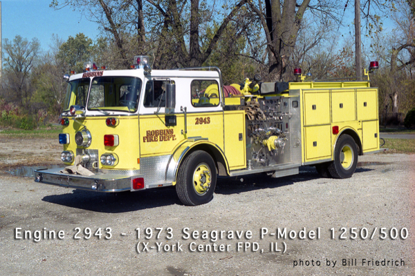 Robbins FD Engine 2943 formerly used in York Center FPD