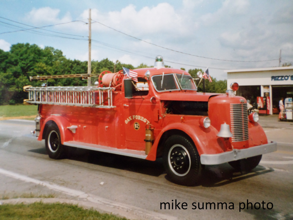 1947 Pirsch fire engine