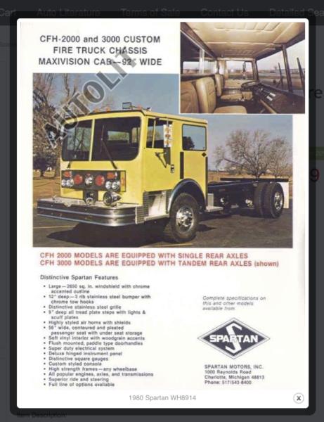 Spartan CFH MaxiVision cab