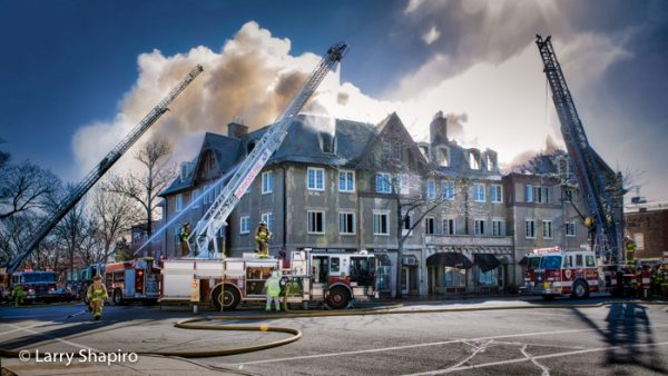 landmark building destroyed by fire