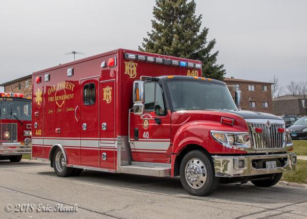 Oak Forest FD Ambulance 40