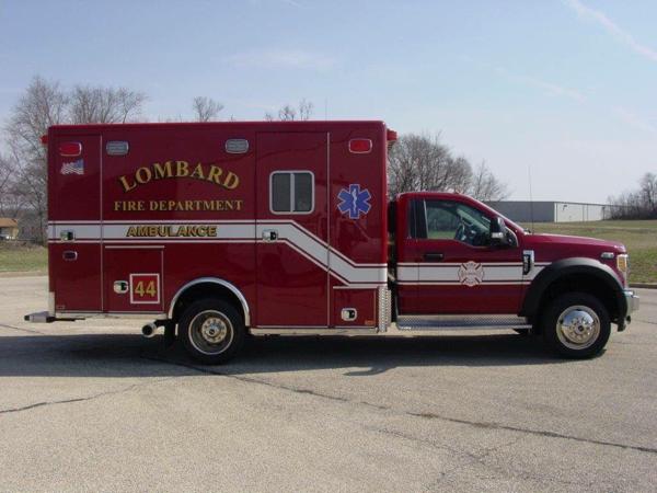 Lombard FD Ambulance 44