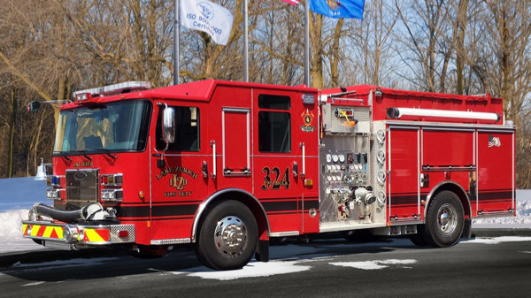 Lake Zurich FD Engine 324