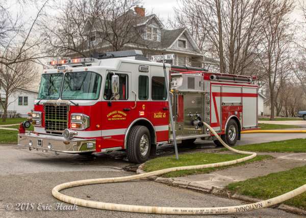 Kankakee Township FPD Engine 82