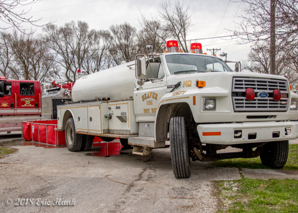 Beaver FPD Tanker 2 at work