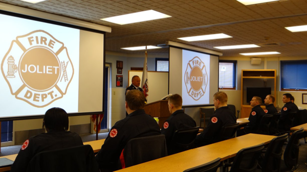 New recruits join the Joliet Fire Department