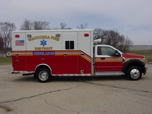 Wauconda Fire District ambulance