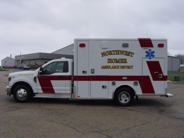 Northwest Homer FPD ambulance