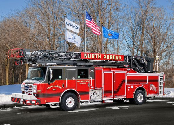 new fire truck for the North Aurora FPD