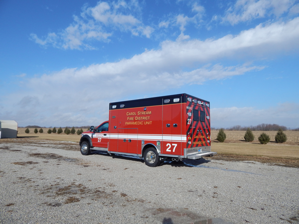 Carol Stream Fire District Medic 27