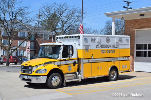Clarendon Hills FD Medic 86