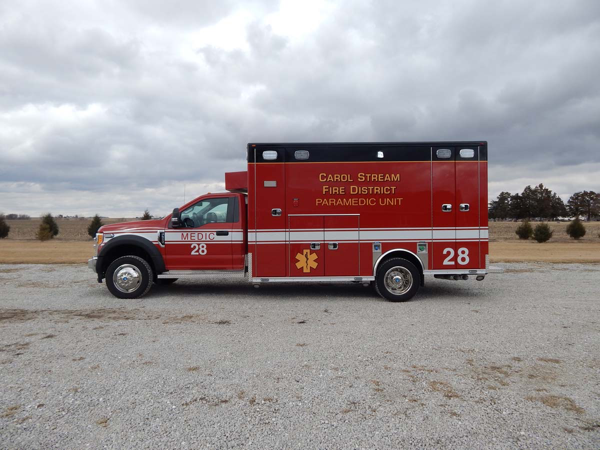 Carol Stream Fire District Medic 28