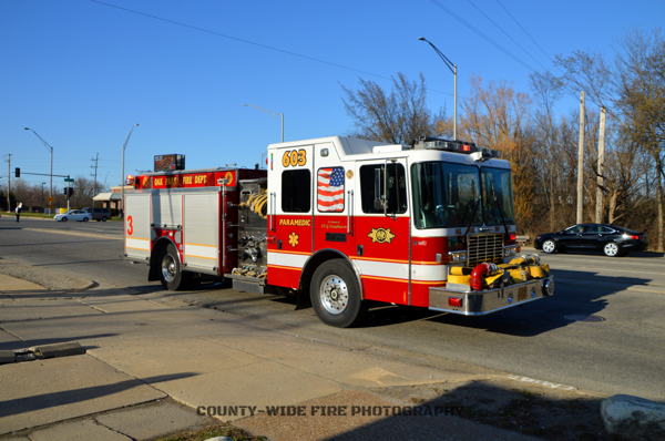 Oak Park FD Engine 603