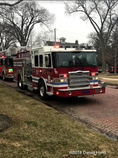 Tri-State FPD fire engine