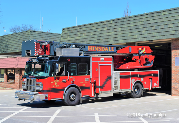 Hinsdale FD Truck 84.