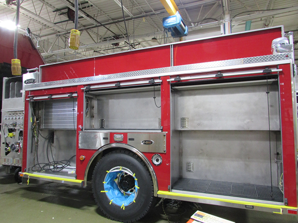 E-ONE fire engine being built so 141479 for Naperville IL
