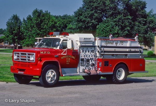 GMC/FMC Bean fire engine from Mooseheart IL