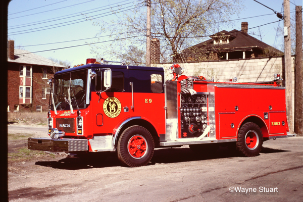 1986 Mack MC686FC /  3D Metals pumper