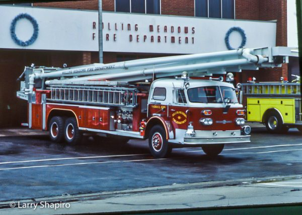 1970 American LaFrance 1000 Series Aero Chief 90