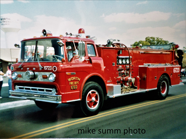 vintage Worth FD engine 6723