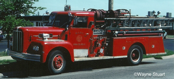1964 Maxim S-Model pumper from Gary Indiana