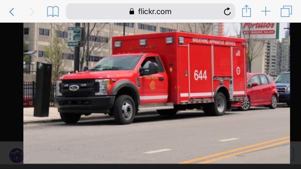 Chicago FD Air Mask Service Unit 644