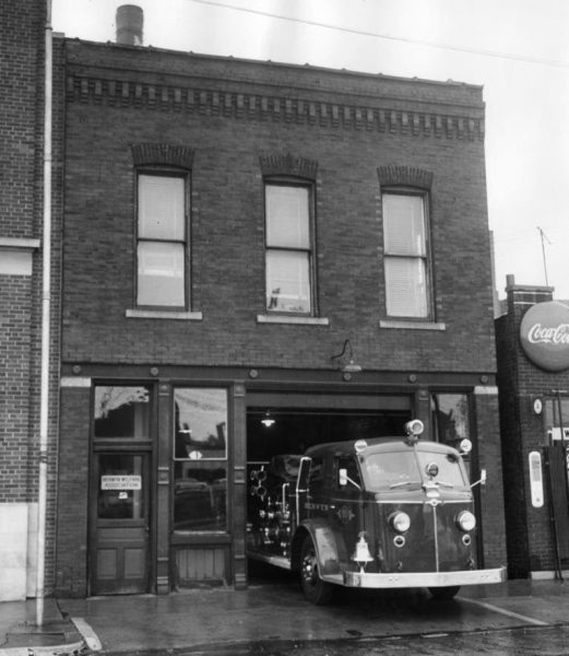 Former Berwyn FD Station 1 built in 1896.