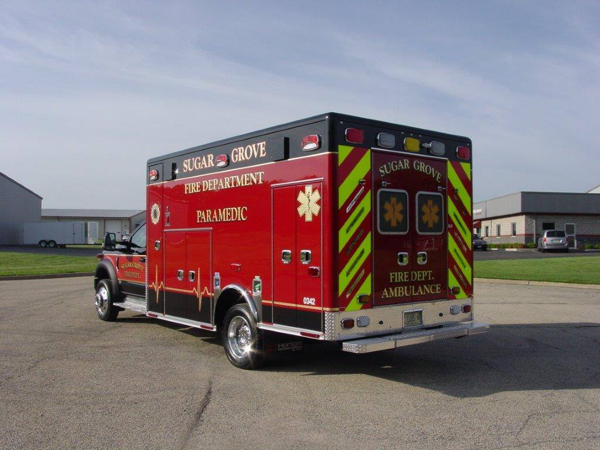 Sugar Grove FPD ambulance
