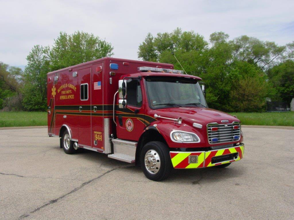 Buffalo Grove FD ambulance