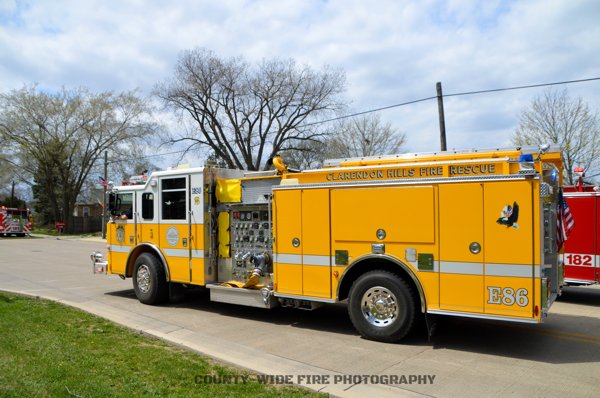 Clarendon Hills FD Engine 86