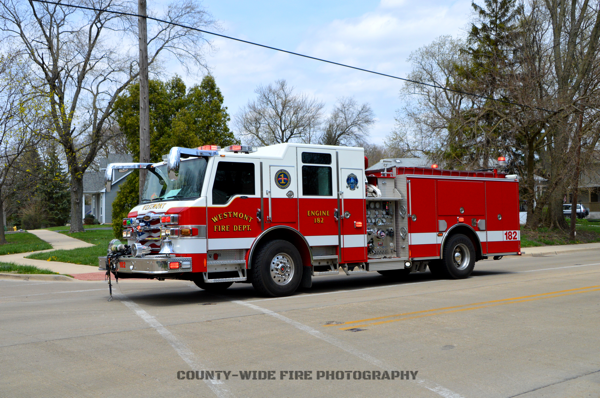 Westmont FD Engine 182