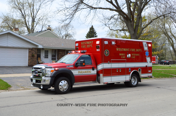 Westmont FD Ambulance 183