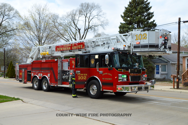 Downers Grove FD Tower 102